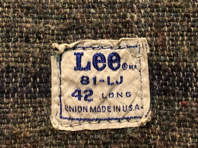 "11月13日(水)マグネッツ大阪店ヴィンテージ入荷!!#5 Work編!  NOS ""HERCULES\"" BlackChambray & Lee, Levi\'s, Wrangler!!_c0078587_15583589.jpg"