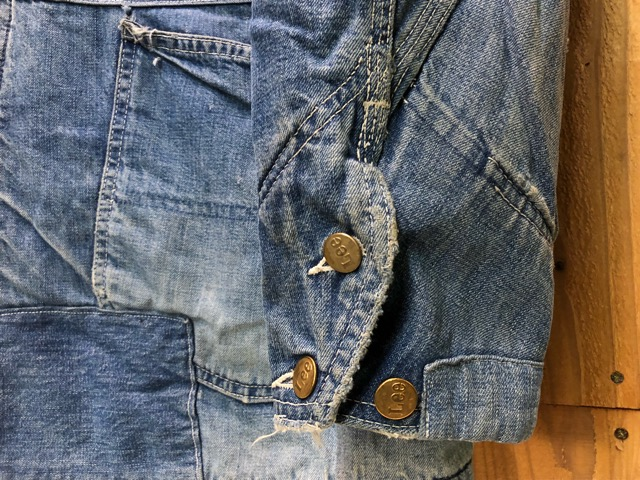 "11月13日(水)マグネッツ大阪店ヴィンテージ入荷!!#5 Work編!  NOS ""HERCULES\"" BlackChambray & Lee, Levi\'s, Wrangler!!_c0078587_1604565.jpg"