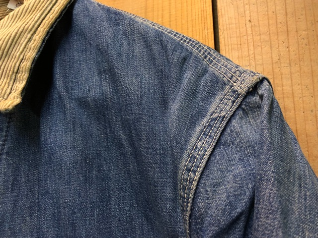 "11月13日(水)マグネッツ大阪店ヴィンテージ入荷!!#5 Work編!  NOS ""HERCULES\"" BlackChambray & Lee, Levi\'s, Wrangler!!_c0078587_1616046.jpg"