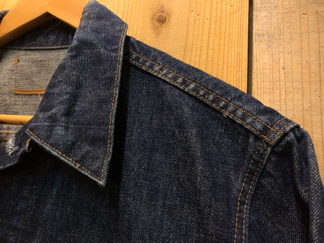 "11月13日(水)マグネッツ大阪店ヴィンテージ入荷!!#5 Work編!  NOS ""HERCULES\"" BlackChambray & Lee, Levi\'s, Wrangler!!_c0078587_16205992.jpg"