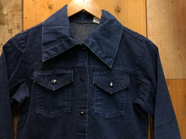 "11月13日(水)マグネッツ大阪店ヴィンテージ入荷!!#5 Work編!  NOS ""HERCULES\"" BlackChambray & Lee, Levi\'s, Wrangler!!_c0078587_16224080.jpg"