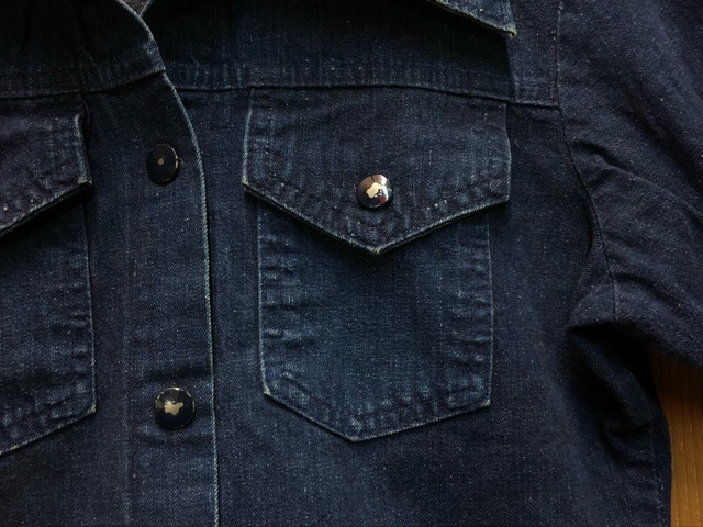 "11月13日(水)マグネッツ大阪店ヴィンテージ入荷!!#5 Work編!  NOS ""HERCULES\"" BlackChambray & Lee, Levi\'s, Wrangler!!_c0078587_16225719.jpg"