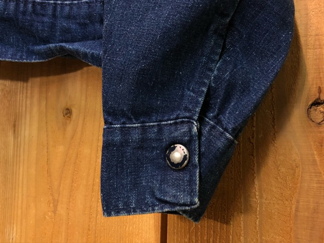 "11月13日(水)マグネッツ大阪店ヴィンテージ入荷!!#5 Work編!  NOS ""HERCULES\"" BlackChambray & Lee, Levi\'s, Wrangler!!_c0078587_16231466.jpg"
