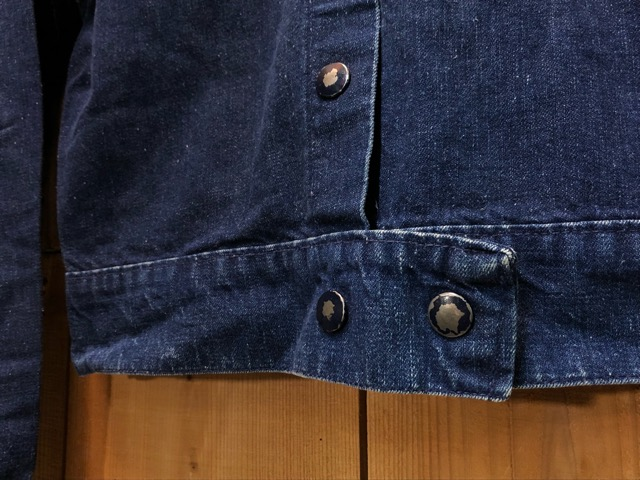 "11月13日(水)マグネッツ大阪店ヴィンテージ入荷!!#5 Work編!  NOS ""HERCULES\"" BlackChambray & Lee, Levi\'s, Wrangler!!_c0078587_16232661.jpg"