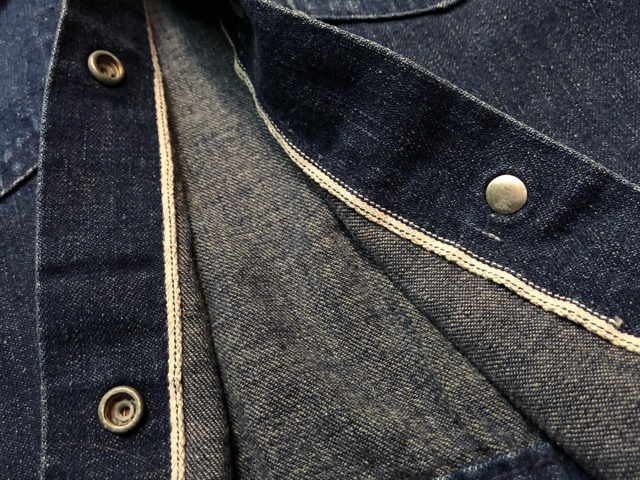 "11月13日(水)マグネッツ大阪店ヴィンテージ入荷!!#5 Work編!  NOS ""HERCULES\"" BlackChambray & Lee, Levi\'s, Wrangler!!_c0078587_16241492.jpg"