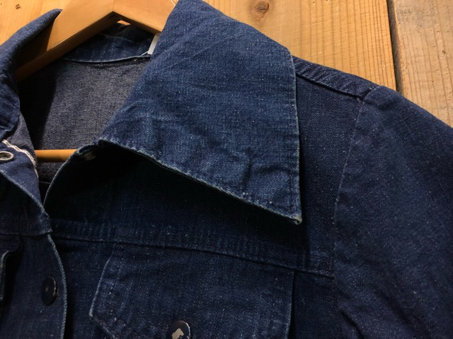"11月13日(水)マグネッツ大阪店ヴィンテージ入荷!!#5 Work編!  NOS ""HERCULES\"" BlackChambray & Lee, Levi\'s, Wrangler!!_c0078587_1624196.jpg"