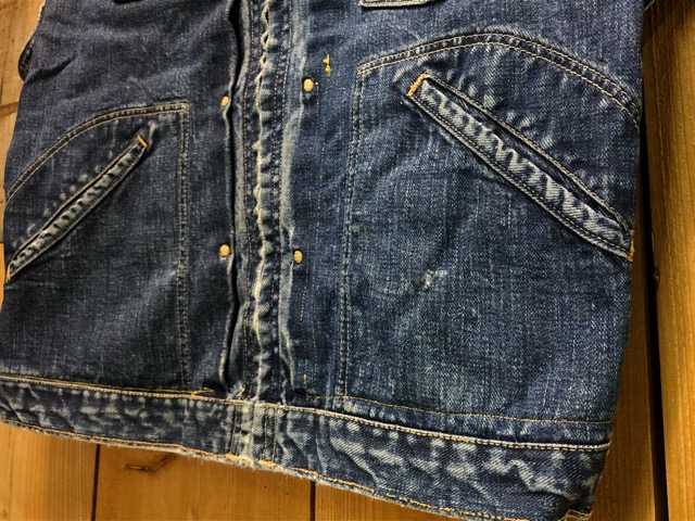 "11月13日(水)マグネッツ大阪店ヴィンテージ入荷!!#5 Work編!  NOS ""HERCULES\"" BlackChambray & Lee, Levi\'s, Wrangler!!_c0078587_1632172.jpg"