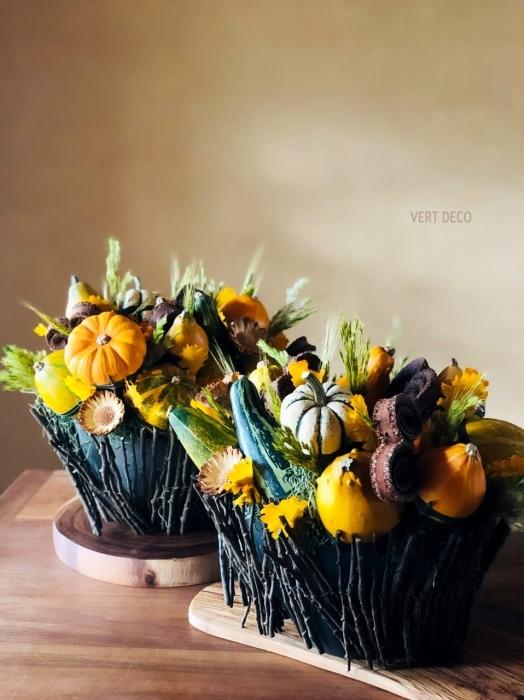 かぼちゃアレンジ_f0186719_13525759.jpg
