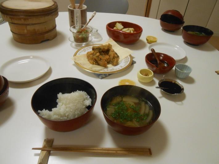 故郷の柿とカキフライ定食。_a0095931_20075810.jpg