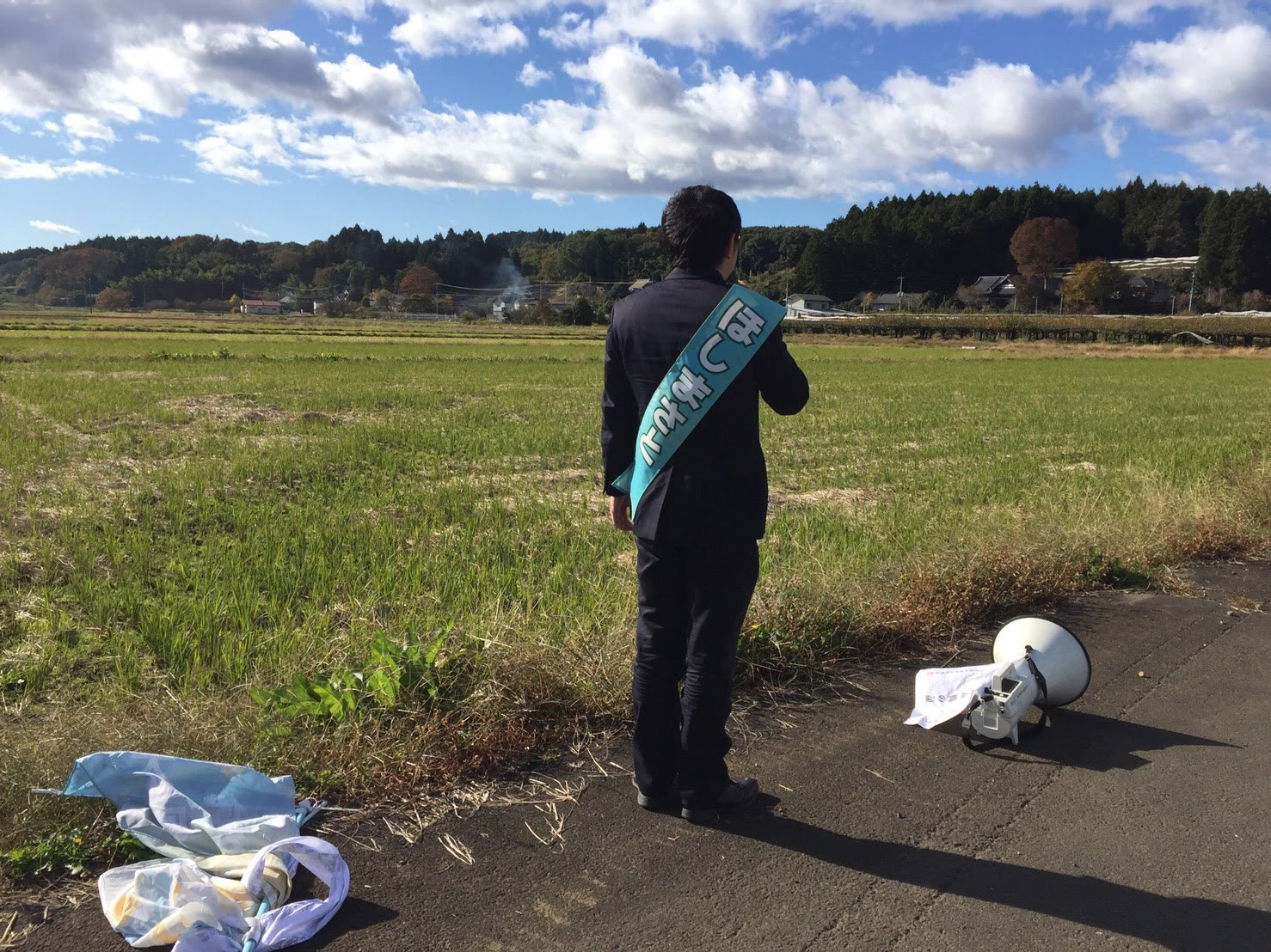 選挙戦3日目…湯津上・宇田川・奥沢・羽田_b0063162_23421802.jpg