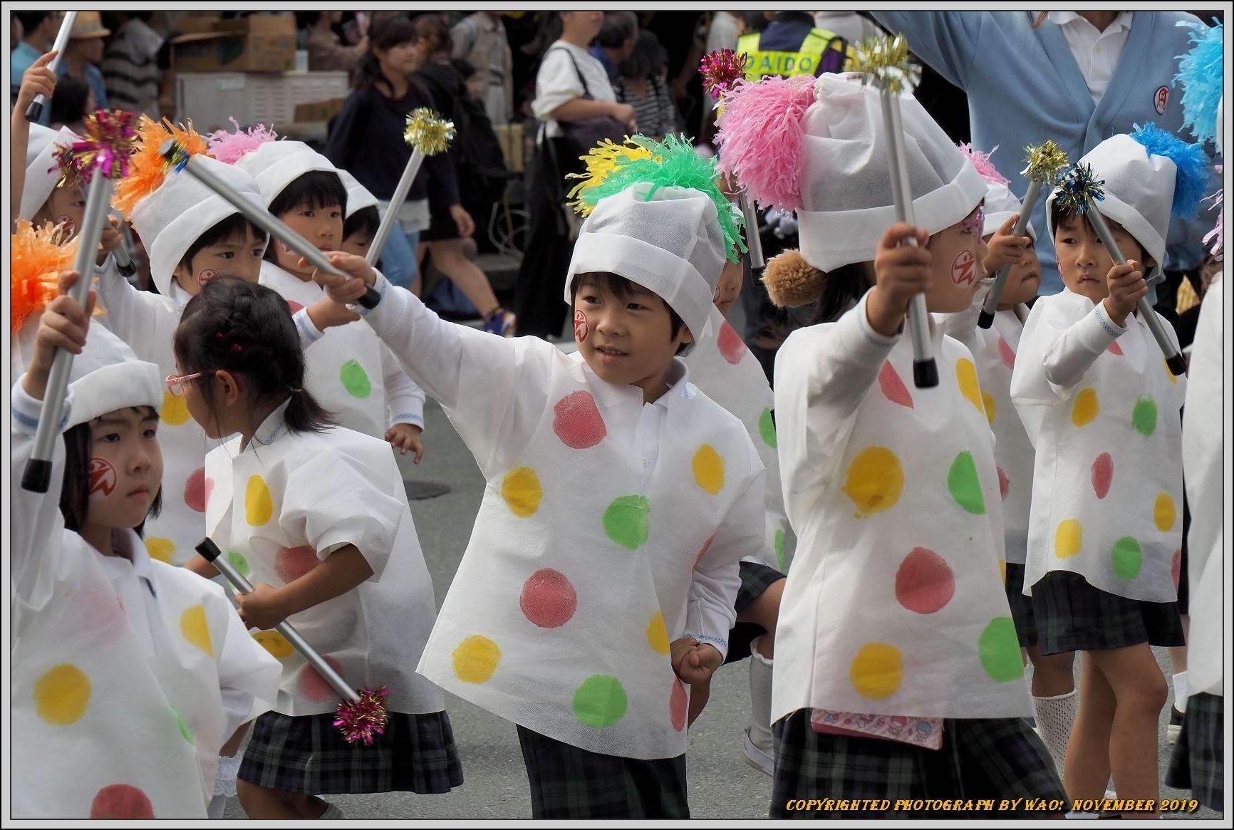 豊橋まつり(2019)舞らん行列 市内幼稚園児鼓隊_c0198669_13512280.jpg