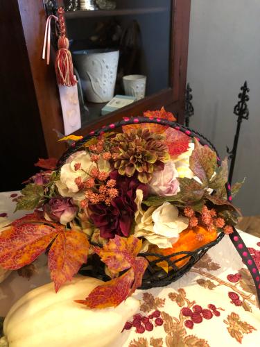 10月レッスンはハロウィンアレンジでした。_c0351372_23371091.jpg