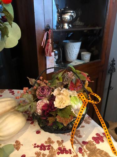 10月レッスンはハロウィンアレンジでした。_c0351372_23400897.jpg