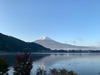 朝焼けの富士山!_f0125182_10234481.jpg