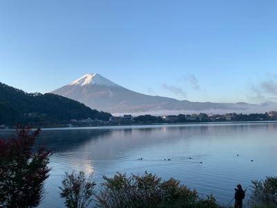 朝焼けの富士山!_f0125182_10263888.jpg