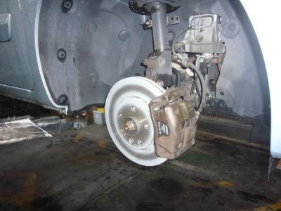 ルノーカングー 車検整備(ブレーキパッド、ディスク交換など)_c0267693_16542192.jpg