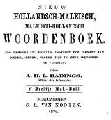 Badings, Maleisch–Hollandsch Woordenboek (1872)_a0051297_09472961.jpg