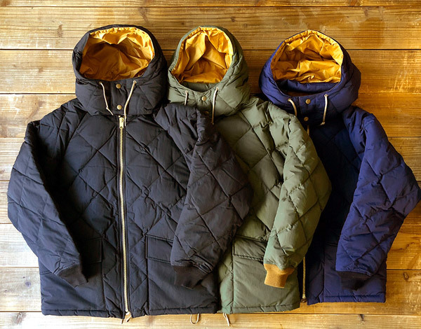【DELIVERY】 STANDARD CALIFORNIA - Classic Quilted Down Jacket_a0076701_15165911.jpg