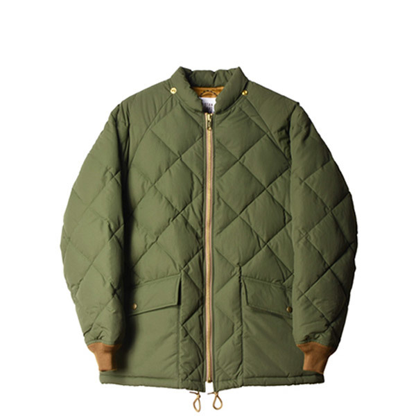 【DELIVERY】 STANDARD CALIFORNIA - Classic Quilted Down Jacket_a0076701_15194905.jpg