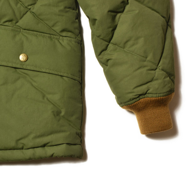 【DELIVERY】 STANDARD CALIFORNIA - Classic Quilted Down Jacket_a0076701_15195594.jpg