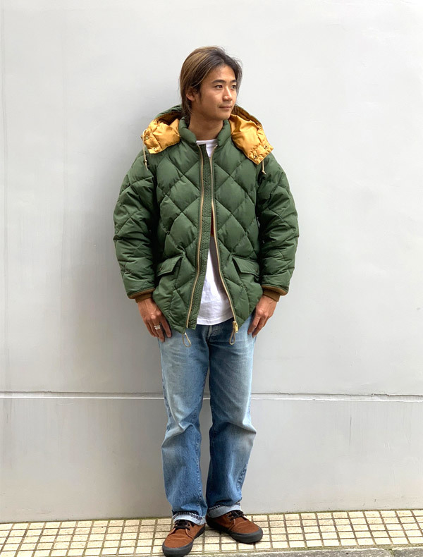 【DELIVERY】 STANDARD CALIFORNIA - Classic Quilted Down Jacket_a0076701_15201228.jpg