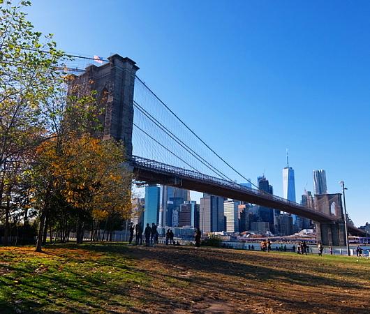 ニューヨークの紅葉とブルックリン・ブリッジ_b0007805_10071542.jpg