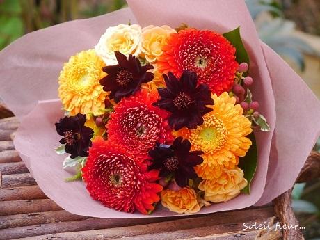 紅葉色の花束_c0098807_21374860.jpg