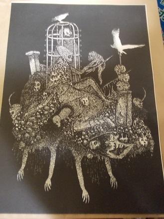 展覧会:インドネシアのMamprang // マンプランーバンドンのアーティスト10人展@新宿 Irregular Rhythm Asylum その2_a0054926_17010563.jpg