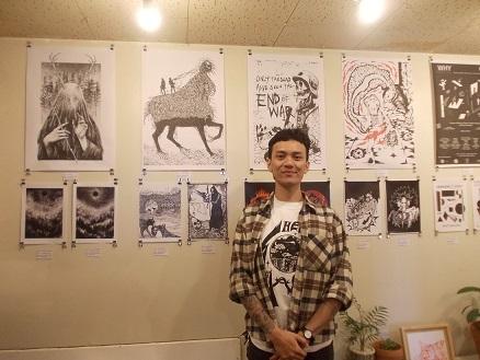 展覧会:インドネシアのMamprang // マンプランーバンドンのアーティスト10人展@新宿 Irregular Rhythm Asylum その2_a0054926_17024960.jpg