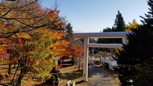 猪苗代町土津(はにつ)神社にて♪_f0165126_16141996.jpg
