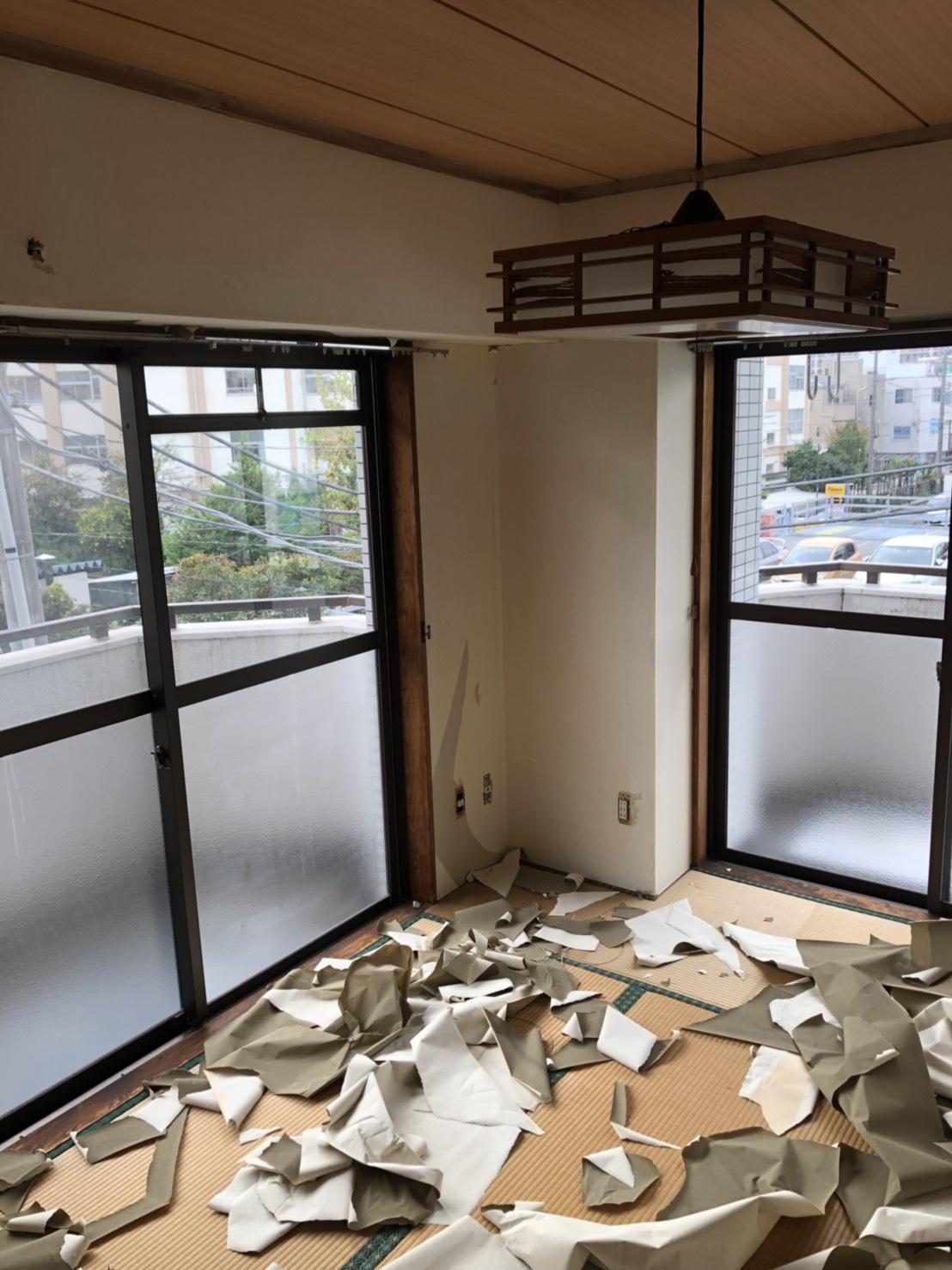 足立区SYU様邸リフォーム内装工事始る。_a0214329_14302356.jpg