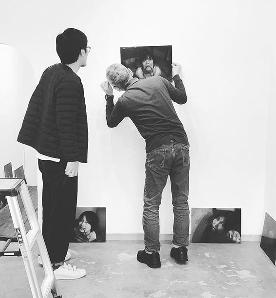 2019.11.13(水)〜11.18(月) BASIC 木村恵 緊縛写真展@1日目_e0272050_18414002.jpg