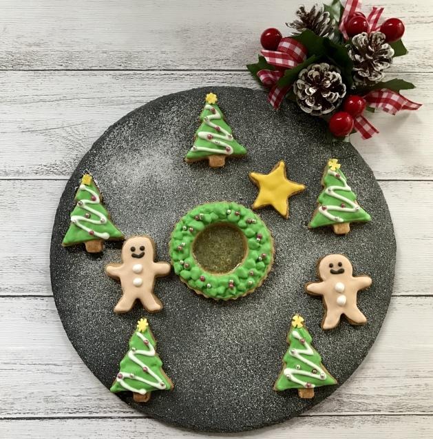 クリスマスクッキー to 角食パンとおまけの焼き芋☆_e0141159_18073546.jpeg