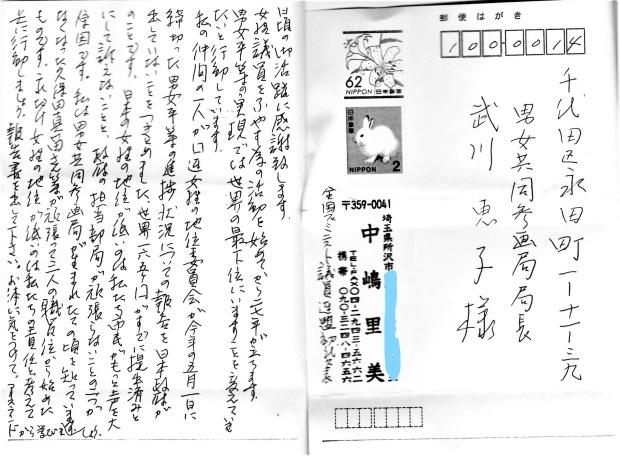 「北京+25」報告書、165カ国提出も日本は未提出_c0166264_09480699.jpg