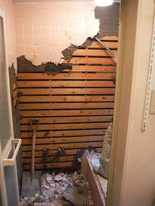 まとめてリフォーム ~ 浴室解体工事。_d0165368_05065975.jpg