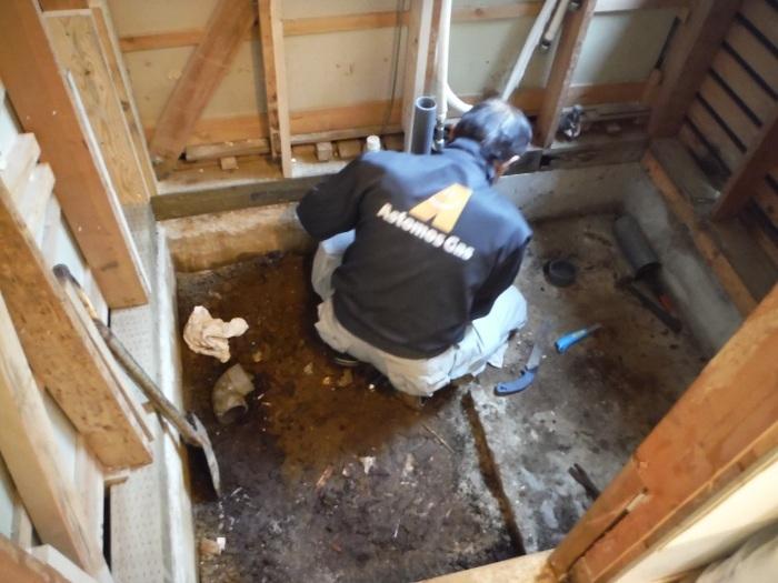まとめてリフォーム ~ 浴室解体工事。_d0165368_05080756.jpg