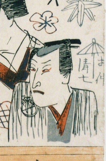 【江戸時代】相合傘の研究(というほどではなく今まで散発的にメモしたものをまとめました)【番傘か蝙蝠か】_b0116271_14291809.jpg