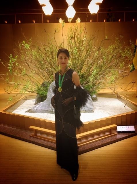 日本開催第10回シャンパーニュ騎士団叙任式 晩餐会へ@オークラ東京♬_a0138976_14262552.jpg