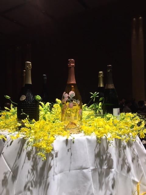 日本開催第10回シャンパーニュ騎士団叙任式 晩餐会へ@オークラ東京♬_a0138976_14271535.jpg