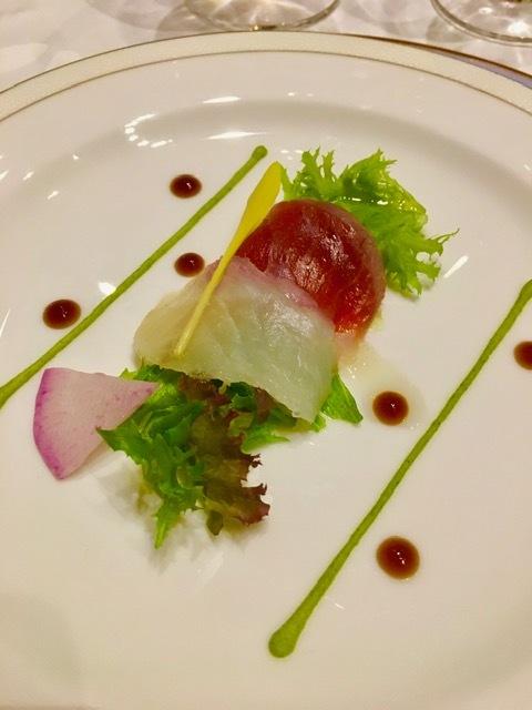 日本開催第10回シャンパーニュ騎士団叙任式 晩餐会へ@オークラ東京♬_a0138976_14275709.jpg