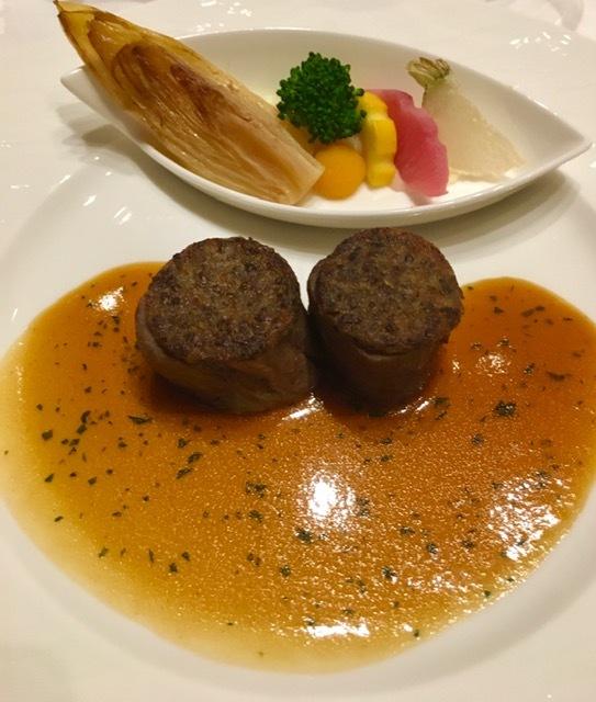 日本開催第10回シャンパーニュ騎士団叙任式 晩餐会へ@オークラ東京♬_a0138976_14281258.jpg