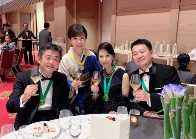 日本開催第10回シャンパーニュ騎士団叙任式 晩餐会へ@オークラ東京♬_a0138976_14291549.jpg