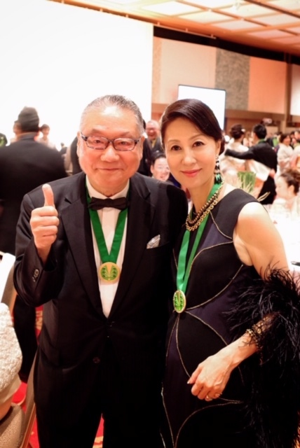 日本開催第10回シャンパーニュ騎士団叙任式 晩餐会へ@オークラ東京♬_a0138976_14292996.jpg