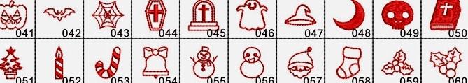クリスマスの刺繍で(^^)_e0385587_18510038.jpeg