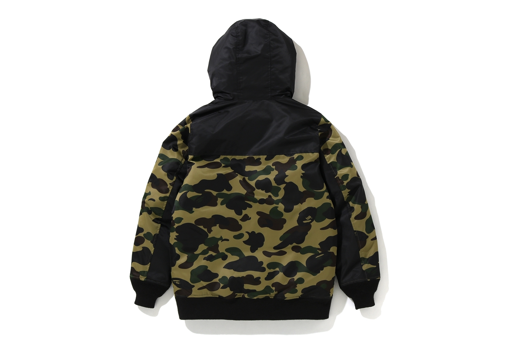 1ST CAMO OVERSIZED HOODIE DOWN JACKET_a0174495_13240569.jpg