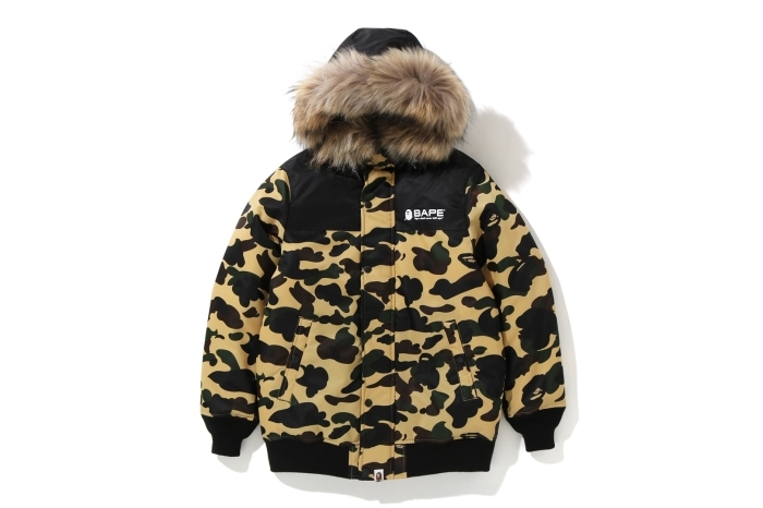 1ST CAMO OVERSIZED HOODIE DOWN JACKET_a0174495_13240990.jpg