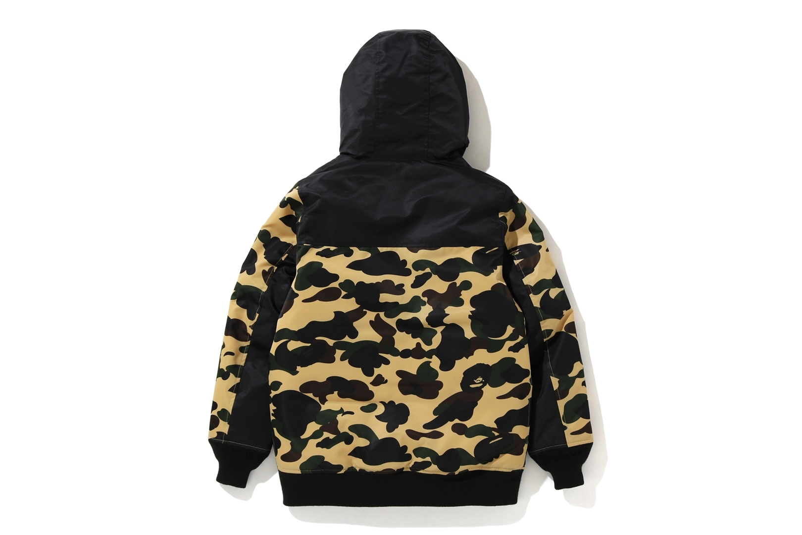 1ST CAMO OVERSIZED HOODIE DOWN JACKET_a0174495_13242332.jpg