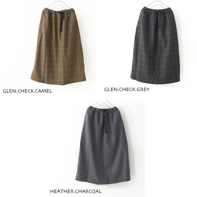 GRAMICCI [グラミチ] WOOL BLEND LONG FLARE SKIRT [GLSK-19F014] ・ウールスカート・チェックスカート・LADY\'S _f0051306_18234302.jpg