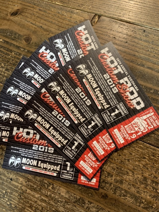 HOT ROD CUSTOM SHOW ADVANCE TICKET !!!!_b0160319_14331831.jpg