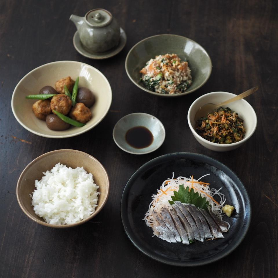 田谷さんの器で和食を_b0206421_20114902.jpg
